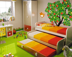Macral Design. Kids and young bedroom contemporary kids beds