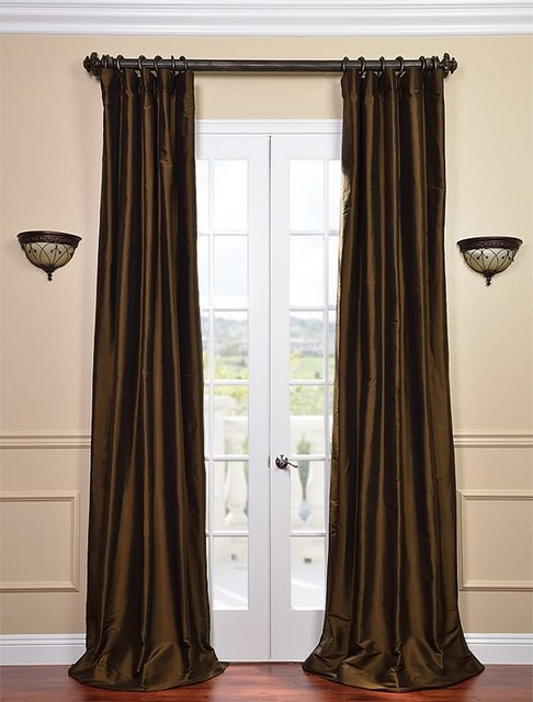Curtains Chocolate Brown - Curtains Design Gallery