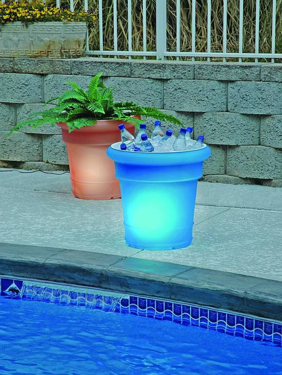 GardenGlo Solar Lighted Planters -