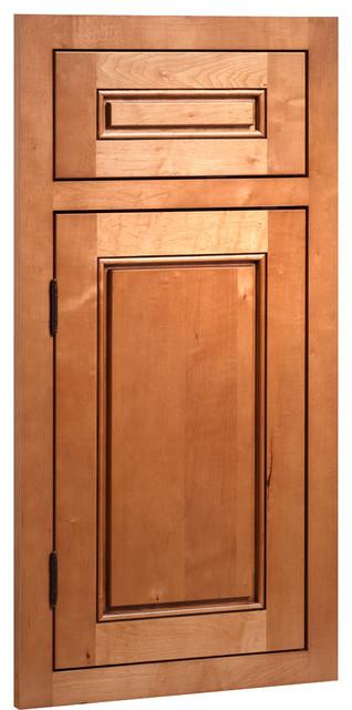 Fairmont Maple Caramel Jute Glaze Stained Wood Shaker Kitchen Cabinet Sample - Farmhouse ...