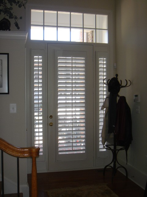 Plantation Shutters on doors - Traditional - jacksonville - by The ...