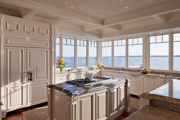 Ocean Front Estate traditional-kitchen