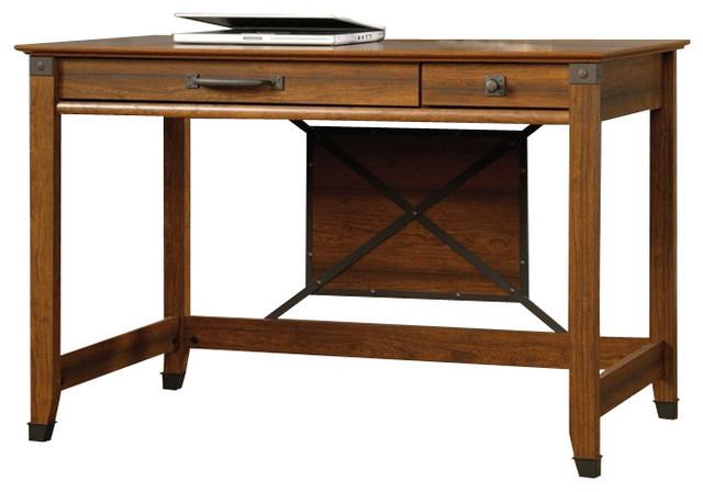 Sauder Carson Forge Writing Desk In Washington Cherry