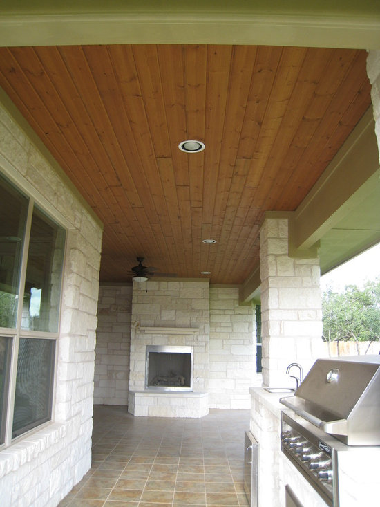 RealSoffit by Woodtone - RealSoffit in Texas Honey Brown by Woodtone.
