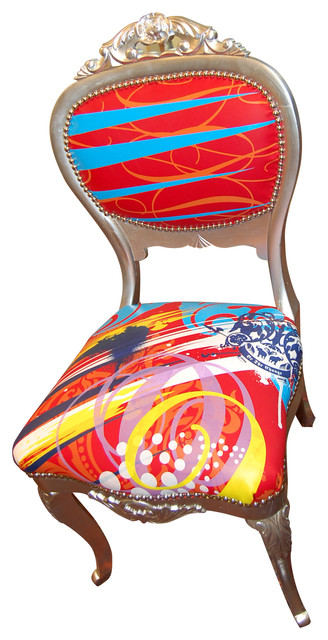 Custom Chairs and Furnishings eclectic-dining-chairs