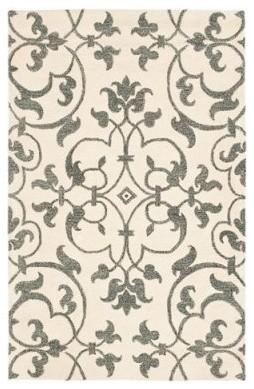 Safavieh Soho SOH840A Area Rug - Ivory/Grey modern-rugs