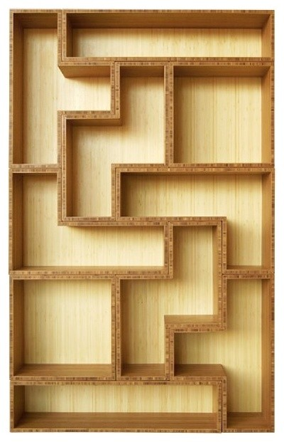 Tetrad Bamboo Shelving eclectic-bookcases