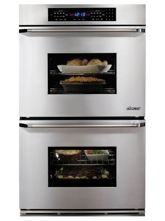 """Dacor Classic Millennia 30"""" Double Wall Oven, Stainless Steel 