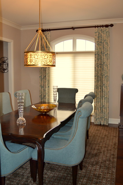 Artistic mix of style and color eclectic-dining-room