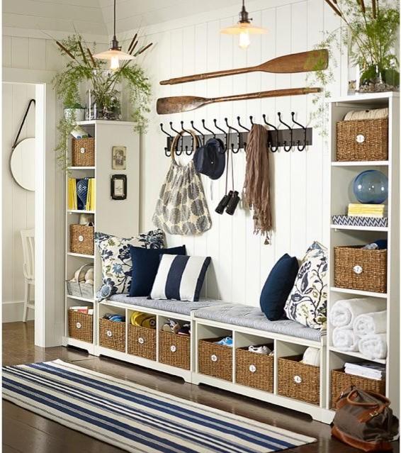 Decorative Ideas For Entryway Organization: Samantha Entryway Components
