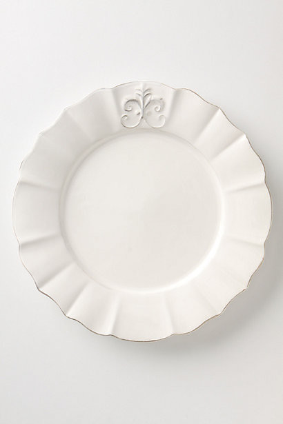 traditional plates by Anthropologie