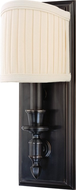 Hudson Valley Bridgehampton Old Bronze Wall Sconce traditional-wall-sconces