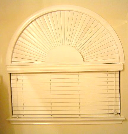 Faux & Real Wood Blinds traditional-window-blinds