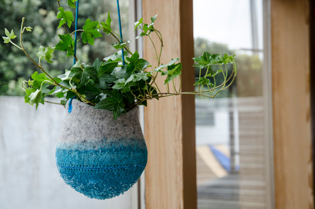 Crystal Planters contemporary-indoor-pots-and-planters