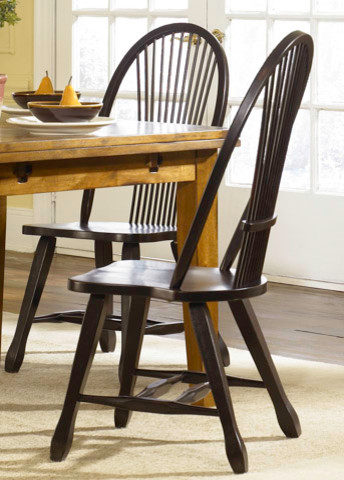 Sheaf Back Dining Side Chair traditional-armchairs-and-accent-chairs