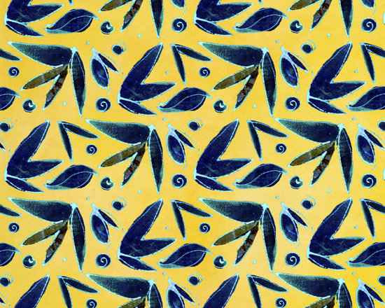 Midnight Butterfly Leaf Solar Power Designer Fabric - Abstract butterfly and leaf on tone on tone to mix & match. Perfect for tabletop, bedding, curtains, children's and more.