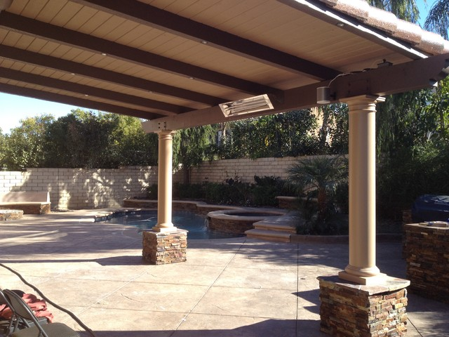 ... Attached Covered Patio Designs