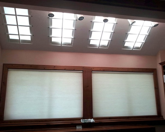 Custom Shutters and Blinds - motorized