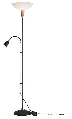 J kel floor uplight reading lamp modern floor lamps by ikea - Floor lamps for reading contemporary ...