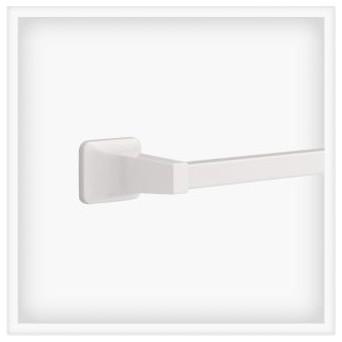 Liberty Hardware D2418W Futura - Franklin Brass 3.27 Inch Towel Holder - White modern-towel-bars-and-hooks