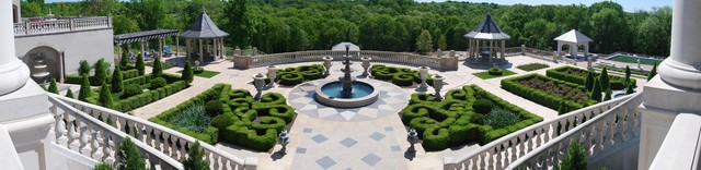 Formal Garden traditional-landscape