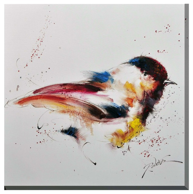 Bird Canvas Print - Transitional - Prints And Posters - by Antique Revival