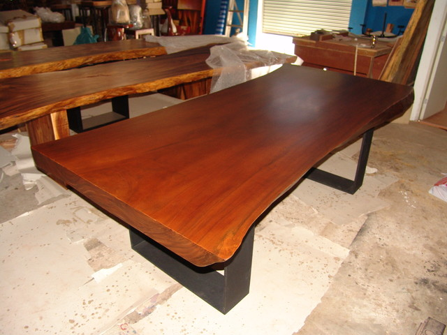 Dining Table Wood Slab Dining Table