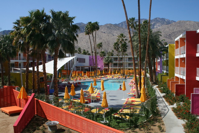 The Saguaro Palm Springs eclectic