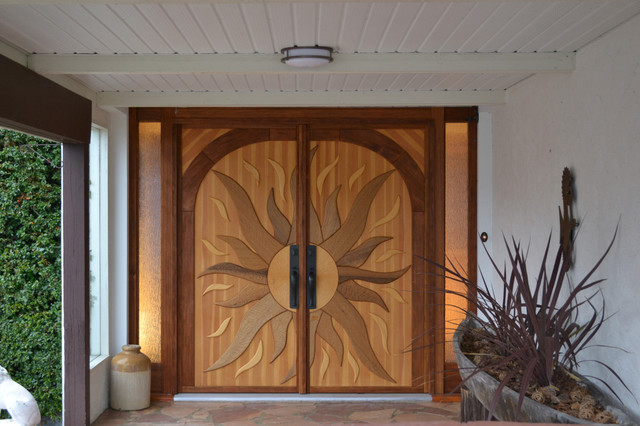 handcrafted one of a kind artistic doors windows-and-doors