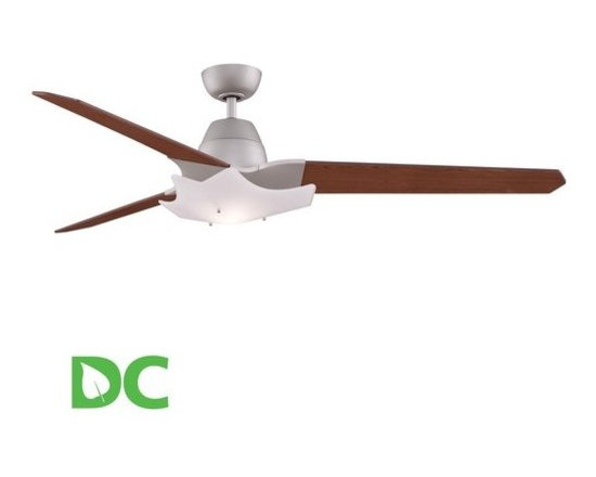 "Fanimation - Fanimation Wylde 72"" 3 Blade DC Ceiling Fan - Blades, Light Kit, and Remote Cont - Included Components:"