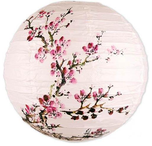 Exploding Blossoms Lantern asian-pendant-lighting