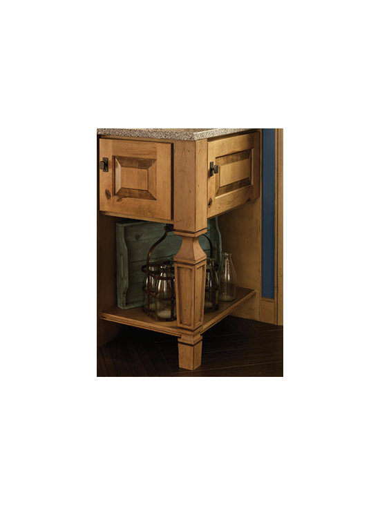 Sterling Leg - Tie in an island to the rest of your kitchen by incorporating the same striking furniture legs used on other base cabinets.