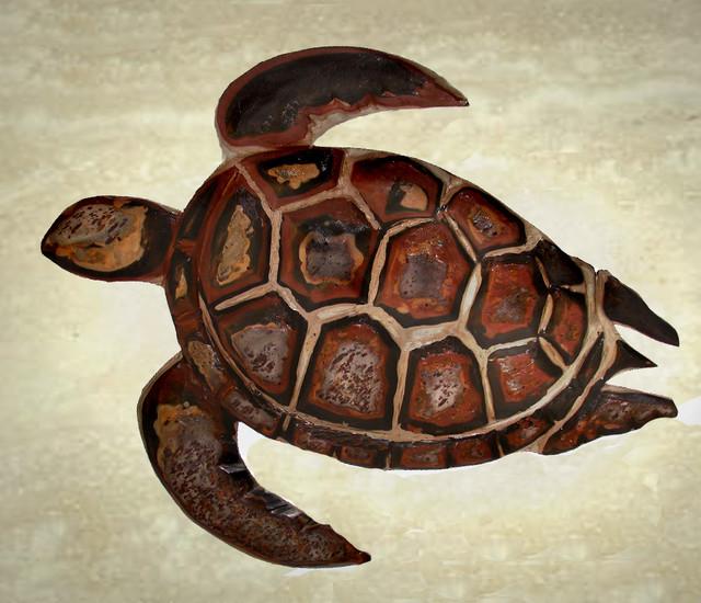 D hand carved stone hawaiian sea turtles tropical