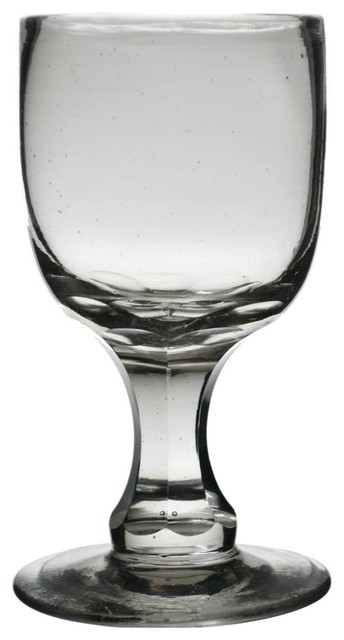 Consigned Consigned English 19th Century Small Wine or Port Glass traditional-wine-glasses