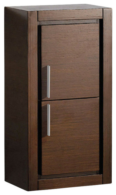 Gray oak bathroom linen cabinet brown contemporary bathroom cabinets and shelves by for Oak linen cabinet for bathrooms