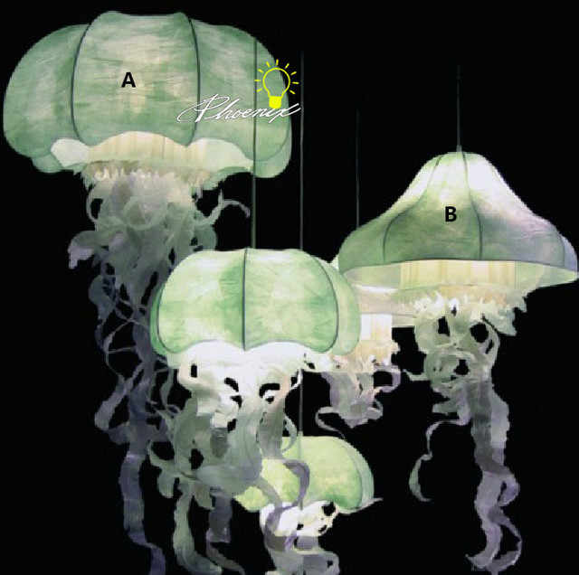 Silk Jellyfish Pendant Lighting  Contemporary  Pendant. World Map Bedding. Make Your Own Wallpaper. Green Velvet Couch. Laundry Room Cabinets Ikea. Nest Interiors. Double Entry Doors. Queen Decor. Double Sided Wall Clock
