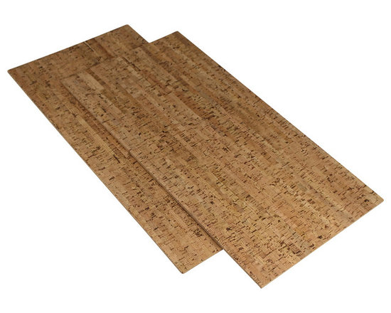 """Forna - 1/4"""" Silver Birch Cork Tiles Flooring 22 Sq.ft Per PKG - 1/4"""" Silver Birch Cork Tiles Flooring 22 Sq.ft Per Package - Step Out of Your Warm Bath Onto Your Warm Cork Floor. 100% Water Proof Cork Glue Down Tiles."""