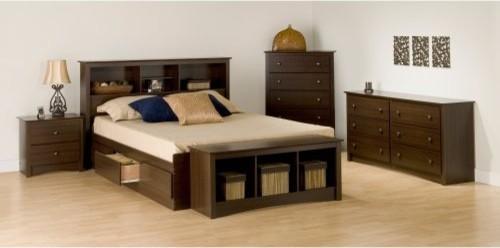 Fremont 5 Piece Bedroom Set traditional-beds