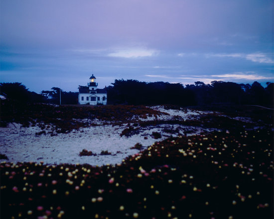 """Asilomar Lighthouse - C-print, unmanipulated print film image, 26""""x26"""" image size, 30""""x30"""" paper size, edition of thre c-prints, edition of three pigment prints. Signed, numbered and captioned in ink on the verso."""