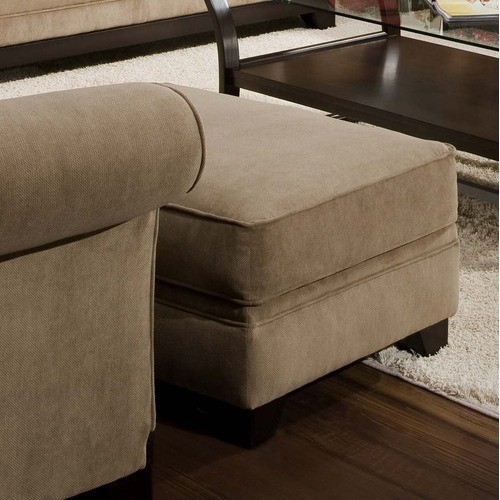 Simmons Upholstery - Timothy Ottoman - 3051OTTO contemporary-fabric