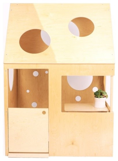 Circle Playhouse modern-outdoor-playhouses
