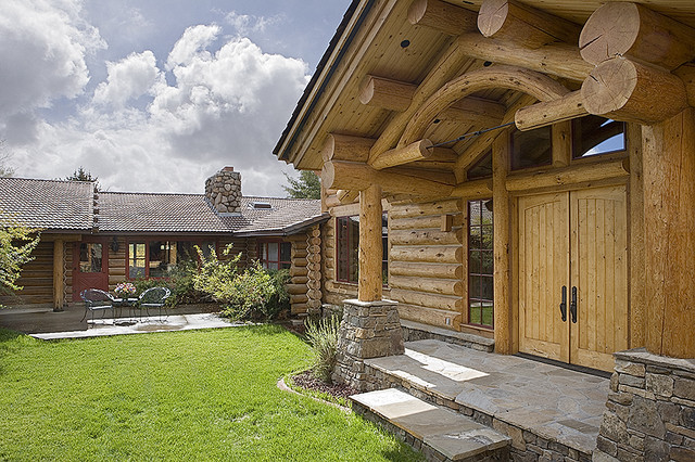 Wyoming Ranch traditional-exterior