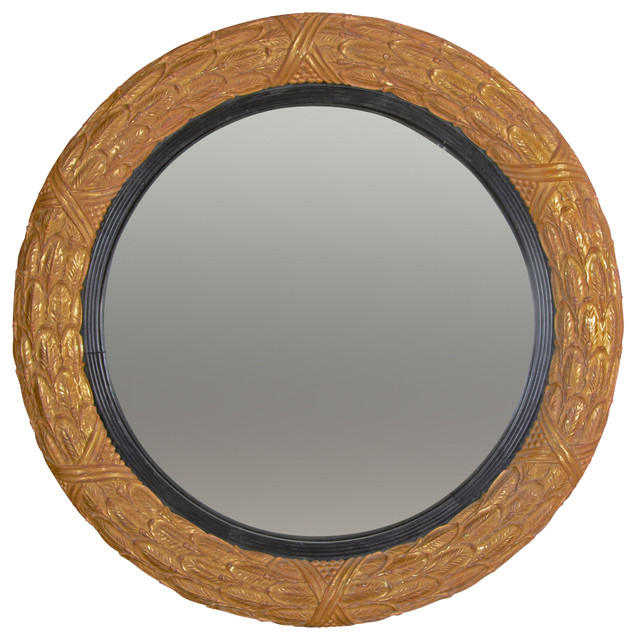 Regency Laurel Convex traditional-wall-mirrors