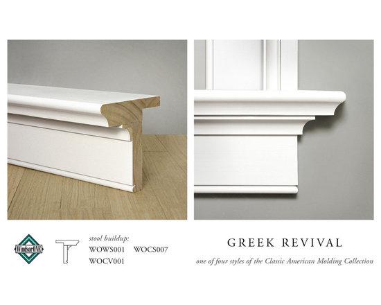 WindsorONE Greek Revival Window Stool & Apron -