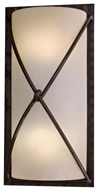 "Arts and Crafts - Mission Aspen II 18 1/2"" High Outdoor Wall Light modern-outdoor-lighting"