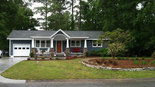 Curb appeal my house got a facelift for Updating your house