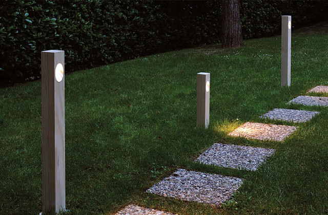 Ela 308 Outdoor Path Lamp By Oluce Lighting Modern Path Lights By Surro