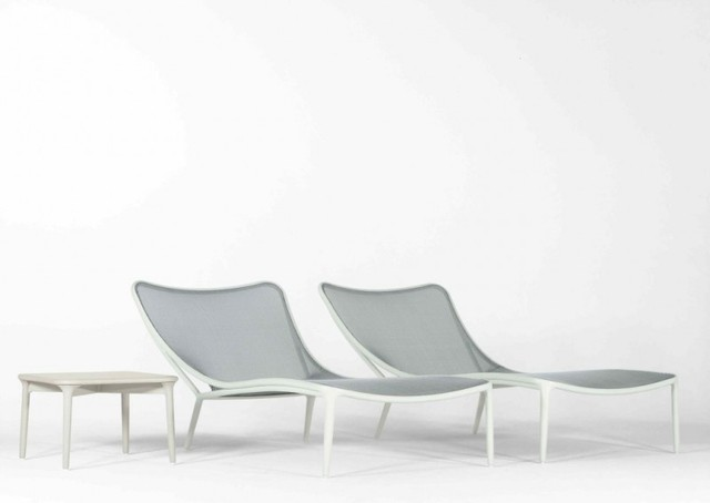 CLOUD NINE - Brown Jordan designed by Richard Frinier contemporary-outdoor-chaise-lounges