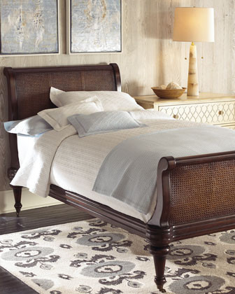 Barclay Butera Lifestyle Barrington Twin Bed traditional-beds