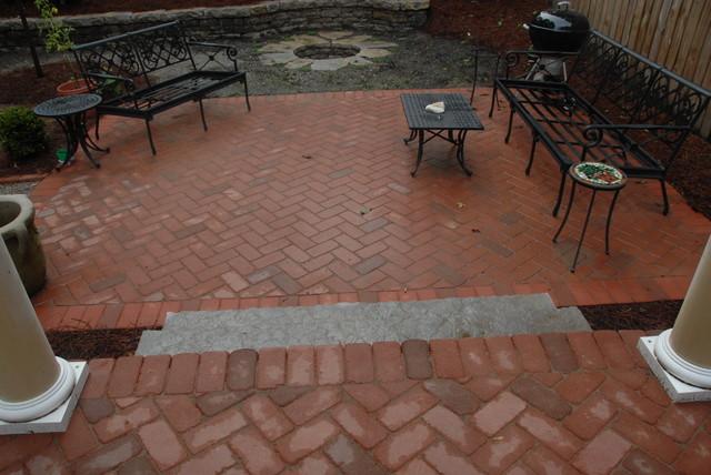 Historic Backyard Renovation traditional-exterior